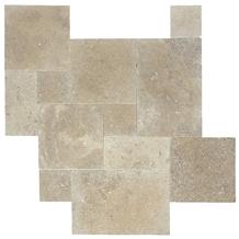 Walnut Travertine Patio Paver, Exterior Pattern