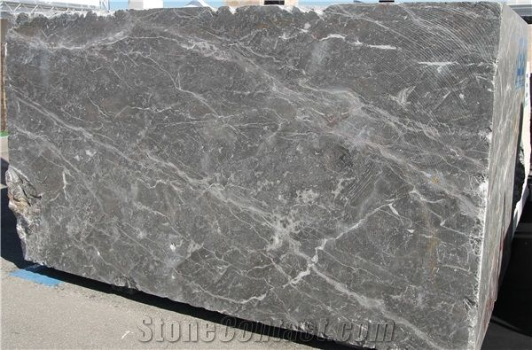 Silver Storm Marble Blocks Italy Exclusive Quarry