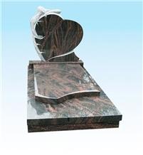 Granite Headstone, Aurora Granite Monument
