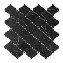 Arabesque Lantern Pattern Mosaics Marble Tile