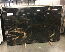 Brazil Black Cosmic Granite Wall Tiles