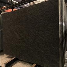 Brazil Brushed Leather Finish Matrix Black Granite