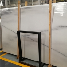 Italian Glossy White Marble Slabs and Tiles