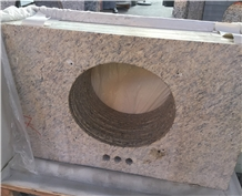 Venus Gold Granite Vanity Tops