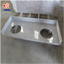 White Granite G655 Bathroom Countertops
