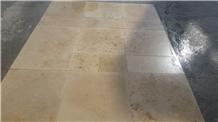 Beige Travertine 61x91.5x1.5cm Tumbled Tiles