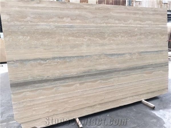 Silver Travertine Slabs Tiles From