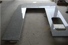 China Hubei New Grey G603 Granite Countertop