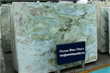 China Ocean Blue Slab Wholesale, China Blue River Marble, Lemon Ice Marble Quarry Owned