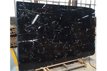 New Dark Brown China Black Cloud Marble Slabs