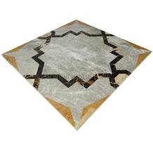 Laminated Marble Waterjet Medallion Tile