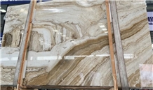 China Palissandro Beige Marble Slabs Tiles