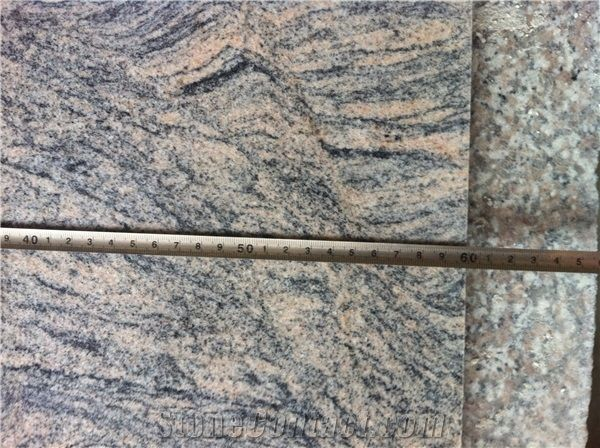 Granite Wall Installation Covering