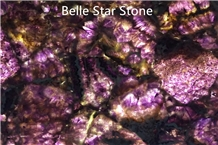 Amethyst/Purple Crystal Semi Precious Stone Slabs