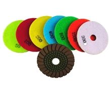 Sunflower Granite Polishing Pads