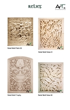 Bali Stone Carving and Engraving Reliefs