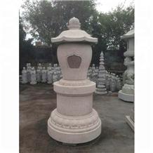 Japanese Style Garden Outdoor Stone Lantern