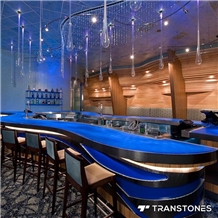 Bar Translucent Acrylic Resin Interior Panels