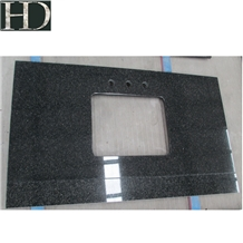 African Absolute Impala Black Granite Countertops