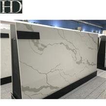 Bianco Calacatta White Quartz Stone Slabs&Tiles