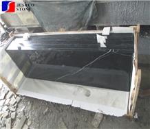 China Black Marble,Nero Marquina Venato Countertop