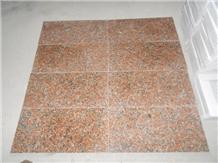 G562 Granite Maple Red Tile,Slab Machine Cut Panel