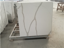 120x120cm White Quartz Commercial Counters Bar Top