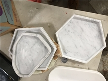 Home Marble White Stone Cigaretete Ashtrays