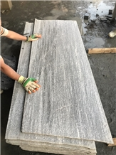 Mountain Grey Granite Stone Flooring Tiles