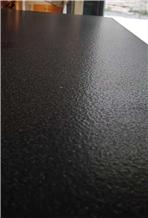 Zimbabwe Absolute Black Granite Leathered Tiles