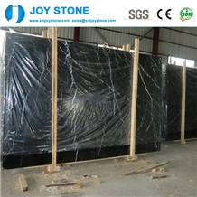 Nero Marquina Marble Polished Slabs for Sale
