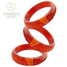 Agate Bracelet, Semiprecious Bead Bracelet