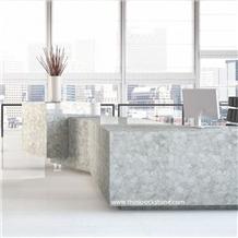 Backlite Crystal Stone Semi Precious Countertop