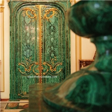 Malachite Home and Hotel Decoration Materials Door