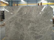 Silver Shadow, Isparta Grey Marble Big Slabs,Tiles
