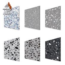 Dark Grey Terrazzo Floor Tiles
