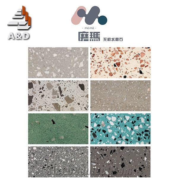 Moma Terrazzo Floor Tiles From China Stonecontact Com
