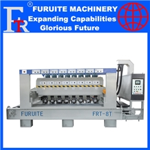 Bush Hammering Machine Auto Polish Litchi Surface