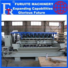 Eight Head Automatic Stone Bush Hammer Machine