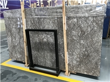 Storm Gray Cloud Grey Marble Slabs,Polished Tiles