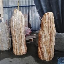 Angel Spark-Striped Onyx Monoliths-Standing Stones