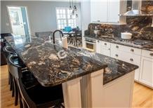 Black Fusion Granite Kitchen Bench Top
