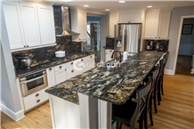 Black Fusion Granite Kitchen Worktop