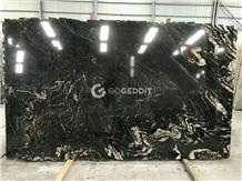 Black Fusion Granite Slabs & Tiles
