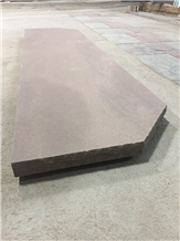 Brown Wave Sandstone Fireplace Hearth