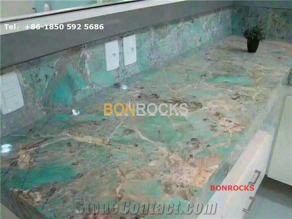 Green Quartzite Countertops