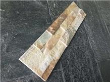 Beige Cultured Stone Veneer Wall Cladding
