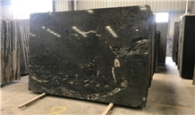 Black Gold Cloud Granite Slabs