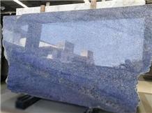 Brazil Angra Blue Granite Polished Slabs Tiles