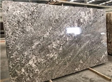 Brazil Bianco Azul Aran White Granit Polished Slab
